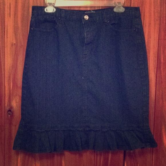 Be-Girl Dresses & Skirts - Denim ruffle skirt
